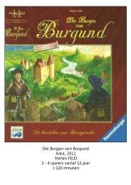 Die Burgen von Burgund Alea, 2011 Stefan FELD 2 ... - Forum Mortsel