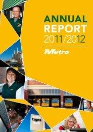 2011/2012 Annual Report - Metro Tasmania