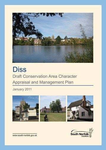 Diss Draft Conservation Area Character Appraisal and Management ...