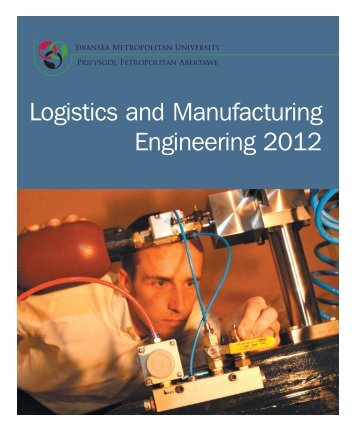 Logistics and Manufacturing Engineering 2012 - Study in the UK