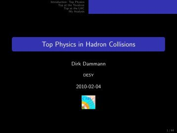 Top Physics in Hadron Collisions