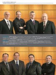 6 FPLQ RaPPoRt annueL 2012 conseiL d'adMinistRation