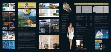 Media Data Travel & Lifestyle 2011 english