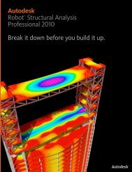 Autodesk® Robot™ Structural Analysis Professional 2010 Break it ...