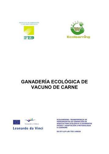 Ganadería Ecológica Vacuno Carne - Projects - Ifes