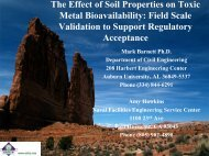 The Effect of Soil Properties on Toxic Metal Bioavailability: Field ...