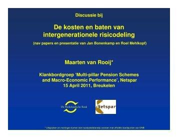 Maarten van Rooij - Netspar