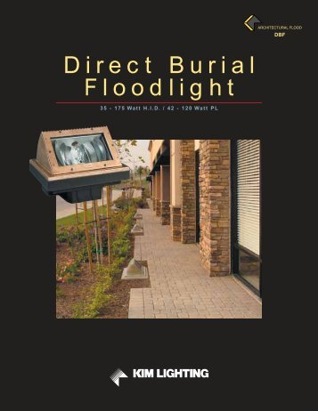 Direct Burial Floodlight - Kim Lighting