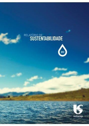 Edição 2012 (pdf) - Sabesp