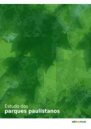 Estudos dos parques paulistanos - Rede Nossa São Paulo