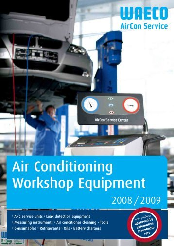 Air Conditioning Workshop Equipment - WAECO - AirCon Service