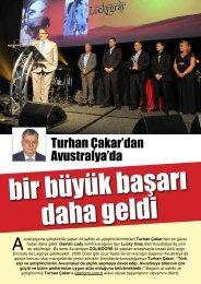 Turhan Çakar'dan Avustralya'da - LiderForm