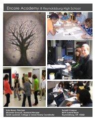 Program of Studies - Reynoldsburg City Schools