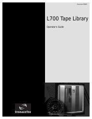 L700 Tape Library Operator's Guide