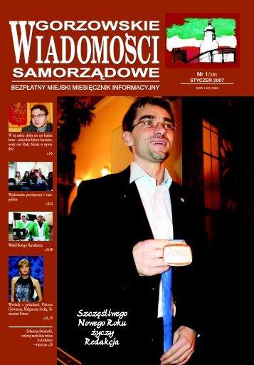 GWS NR 01/2007 - Gorzów