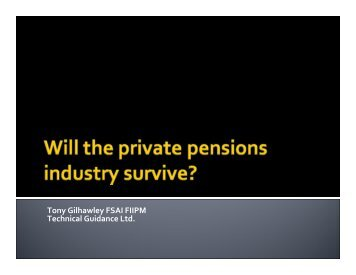 110323 Will Pensions Industry Survive.pdf