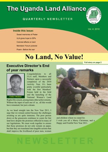 Issue 4 - Uganda Land Alliance