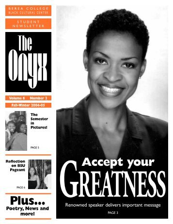 Fall 2004 Issue - Berea College