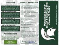 Clinic Brochure 2013
