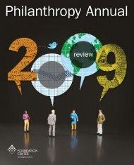 Download Philanthropy Annual PDF - Foundation Center