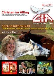Gemeindebrief 2013-05 06 - Christen im Alltag