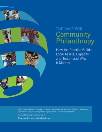 Community Philanthropy