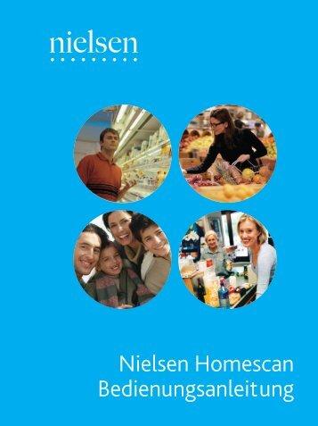 Nielsen Homescan Bedienungsanleitung