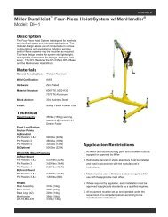 Dh-1 Spec Sheet - Miller Fall Protection
