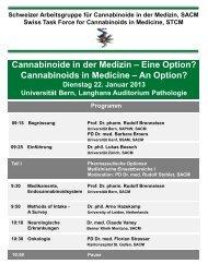 Cannabinoide in der Medizin – Eine Option? - ALS-Vereinigung.ch