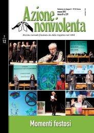 Marzo 2012 - Movimento Nonviolento