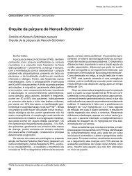 Miolo Pediatria SP - 28(1) - 02.indd - Pediatria (São Paulo) - USP