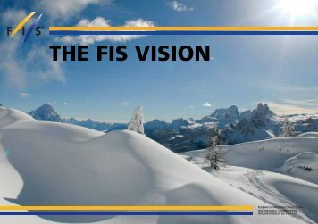 THE FIS VISION - International Ski Federation