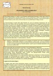 Filosofia per astrologi di Michael Harding - Almugea