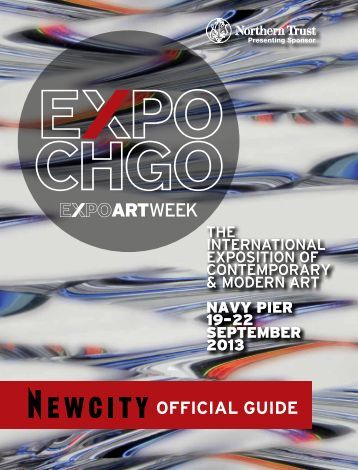 OFFICIAL GUIDE - Exposition Chicago - Expo Chicago