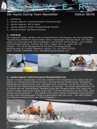Edition 1 - Aquila Sailing