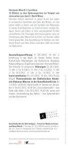todo_flyer nitsch.indd - Nitsch Foundation - Seite 2