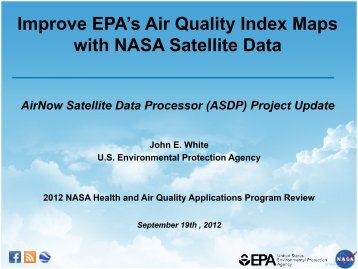 Improve EPA's Air Quality Index Maps with NASA Satellite Data