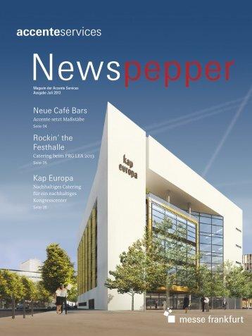 Accente Services Newspepper Juli 2013