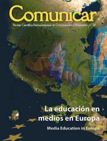 Educación en medios en Europa - Revista Comunicar