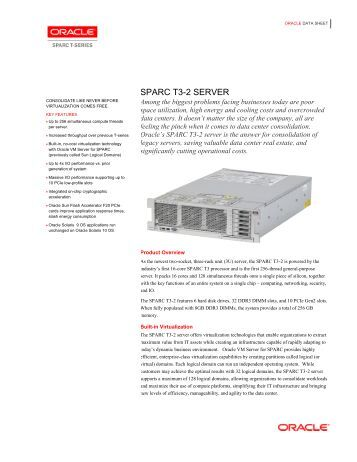 oracle t5 2 service manual