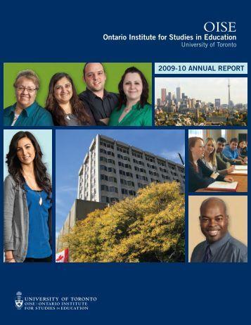Ontario Institute for Studies in Education - University of Toronto