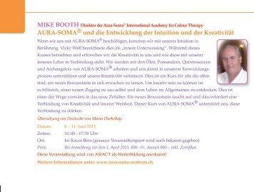 AURA-SOMA® und die Entwicklung der Intuition und der Kreativität