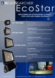 EcoStar LED Floodlight