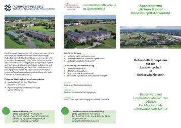 """Agrarzentrum """"Grüner Kamp"""" - Landwirtschaftskammer Schleswig ..."""