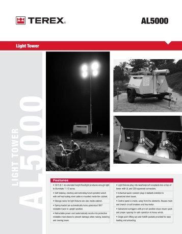 download al5 / al5000 product brochure - Light Towers USA