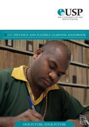 our future, your future 2007 distance and flexible learning handbook