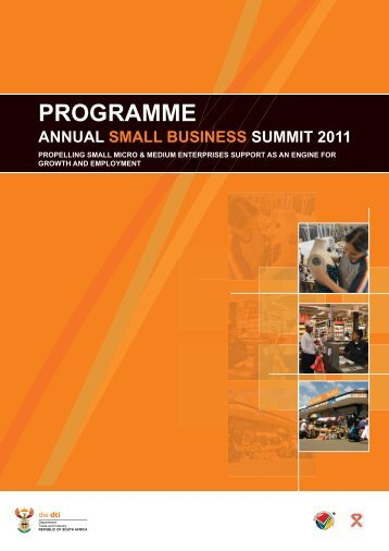 Small business Programme - Department of Trade and Industry