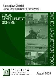 Local Development Scheme - Bassetlaw District Council