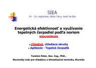 Energetická efektívnosť a využívanie tepelných čerpadiel podľa noriem