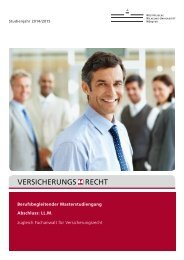 Broschüre 2014/2015 - JurGrad